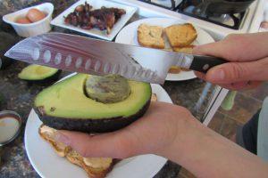 Do you peel avocado